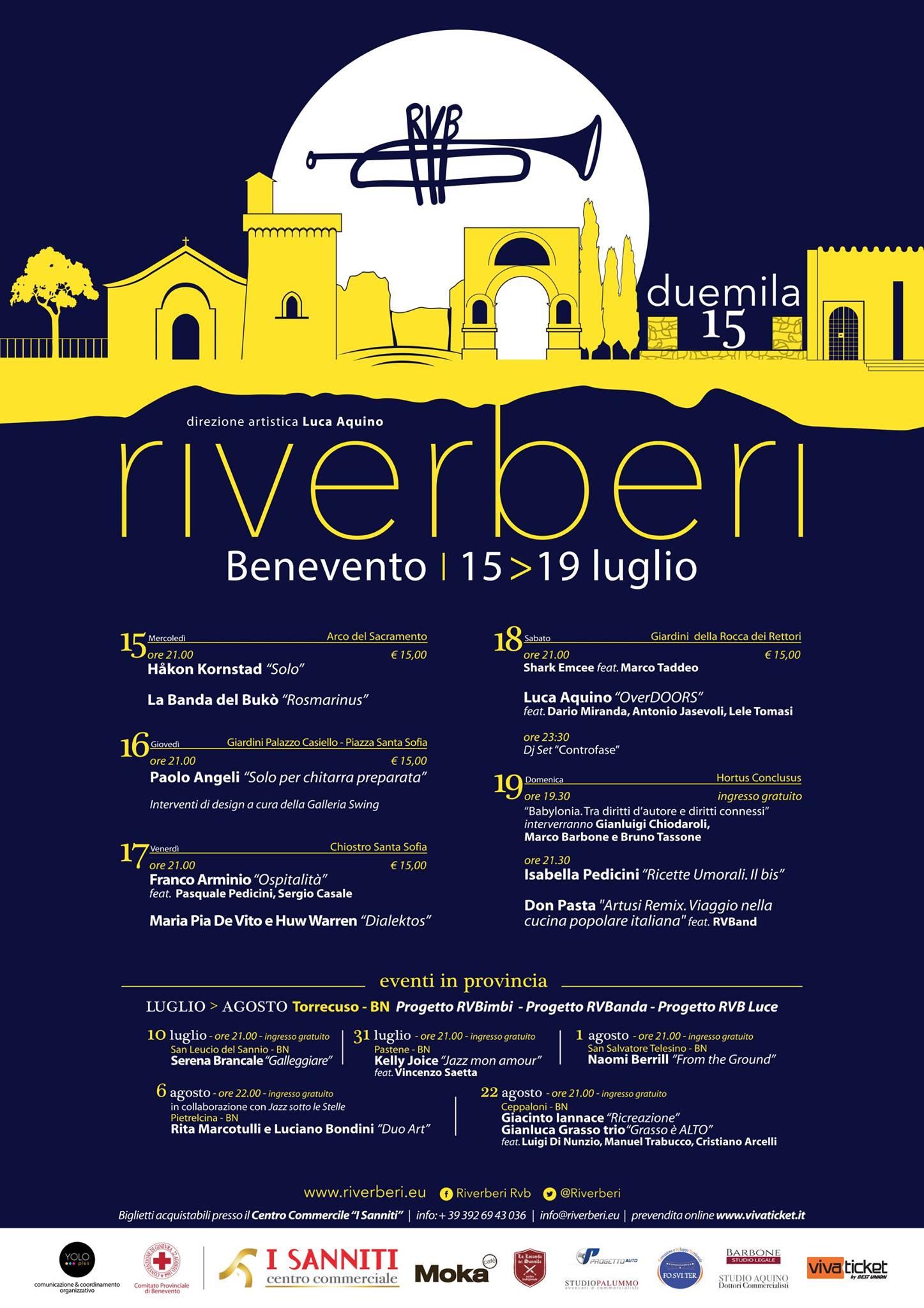 """Verso Riverberi 2015"""
