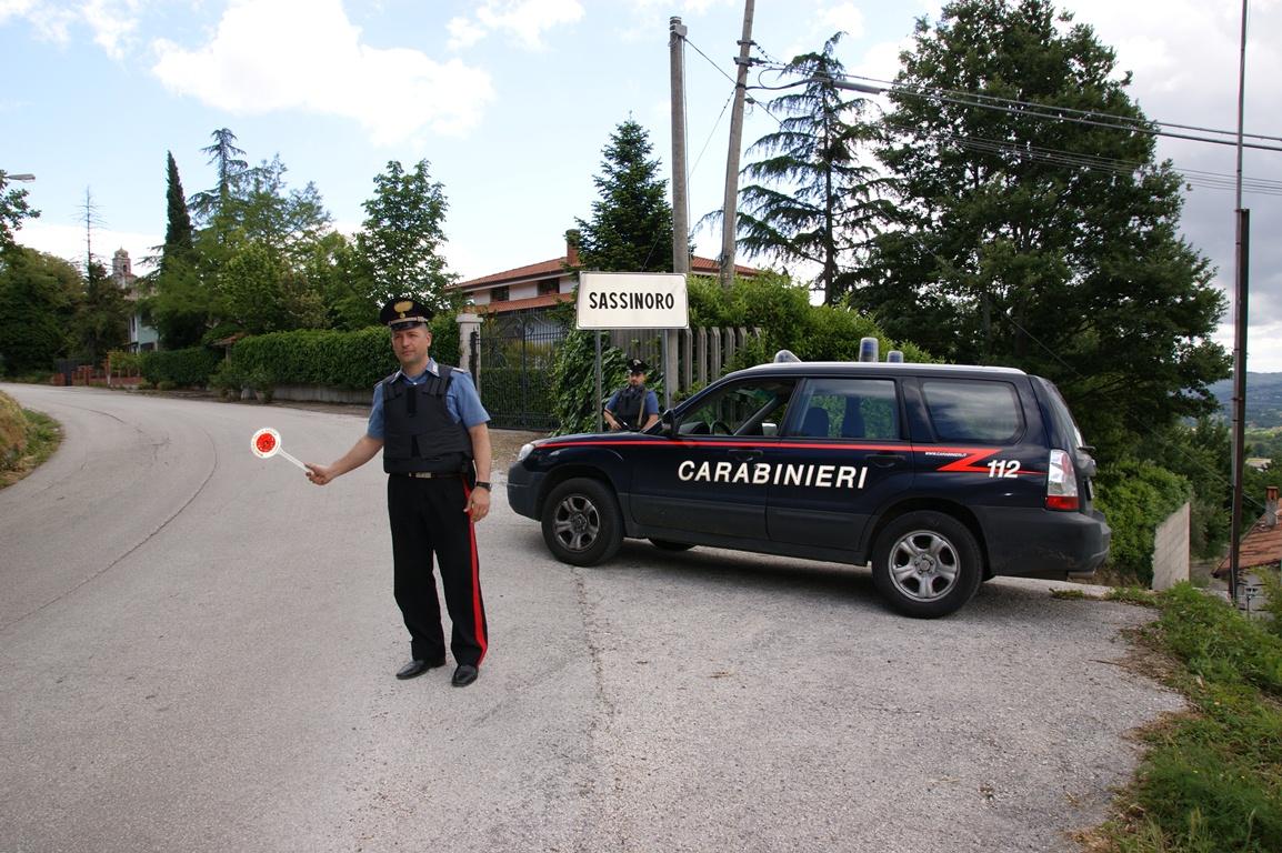 Banda tenta furto in un abitazione di Sassinoro: arrestato 26enne napoletano