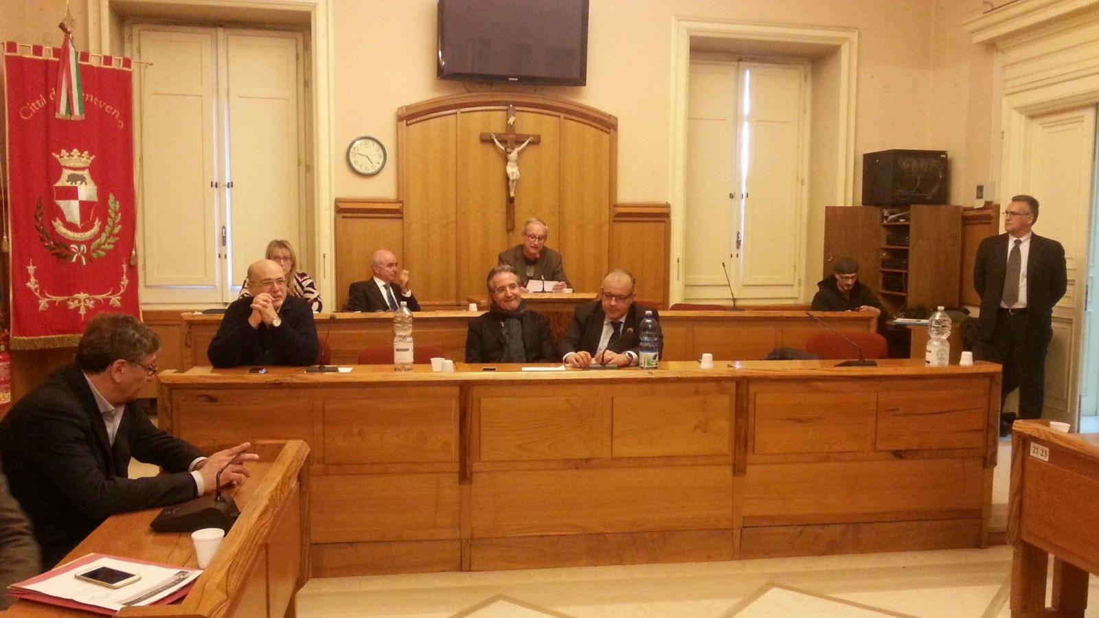 5 Aprile nuova seduta del Consiglio Comunale di Benevento