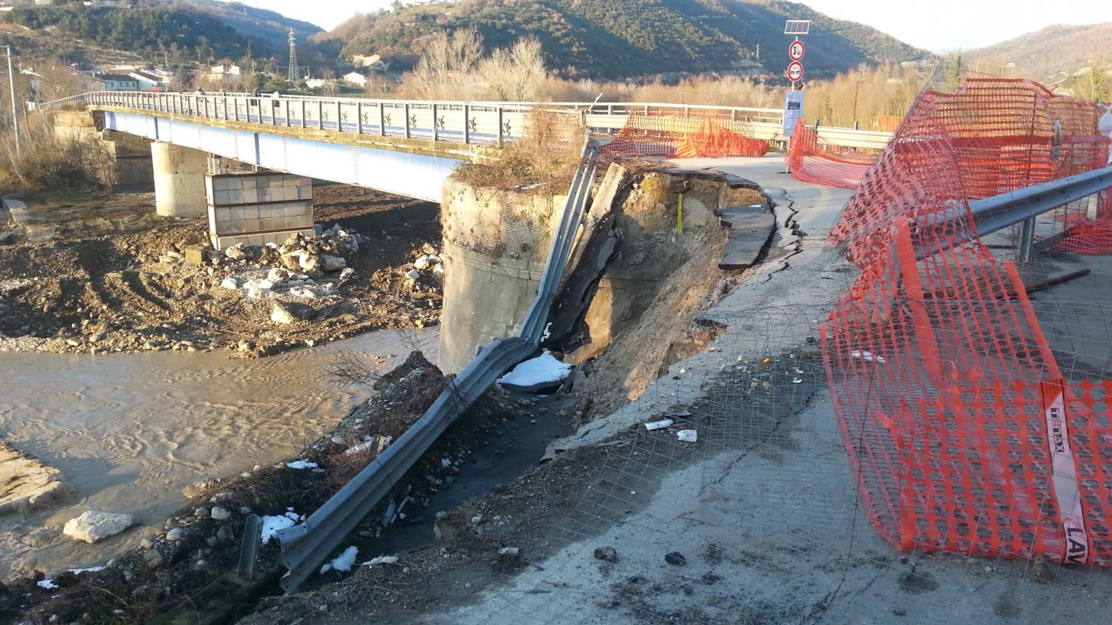 Ponte Ufita, Ricci: presto il ritorno alla normalità