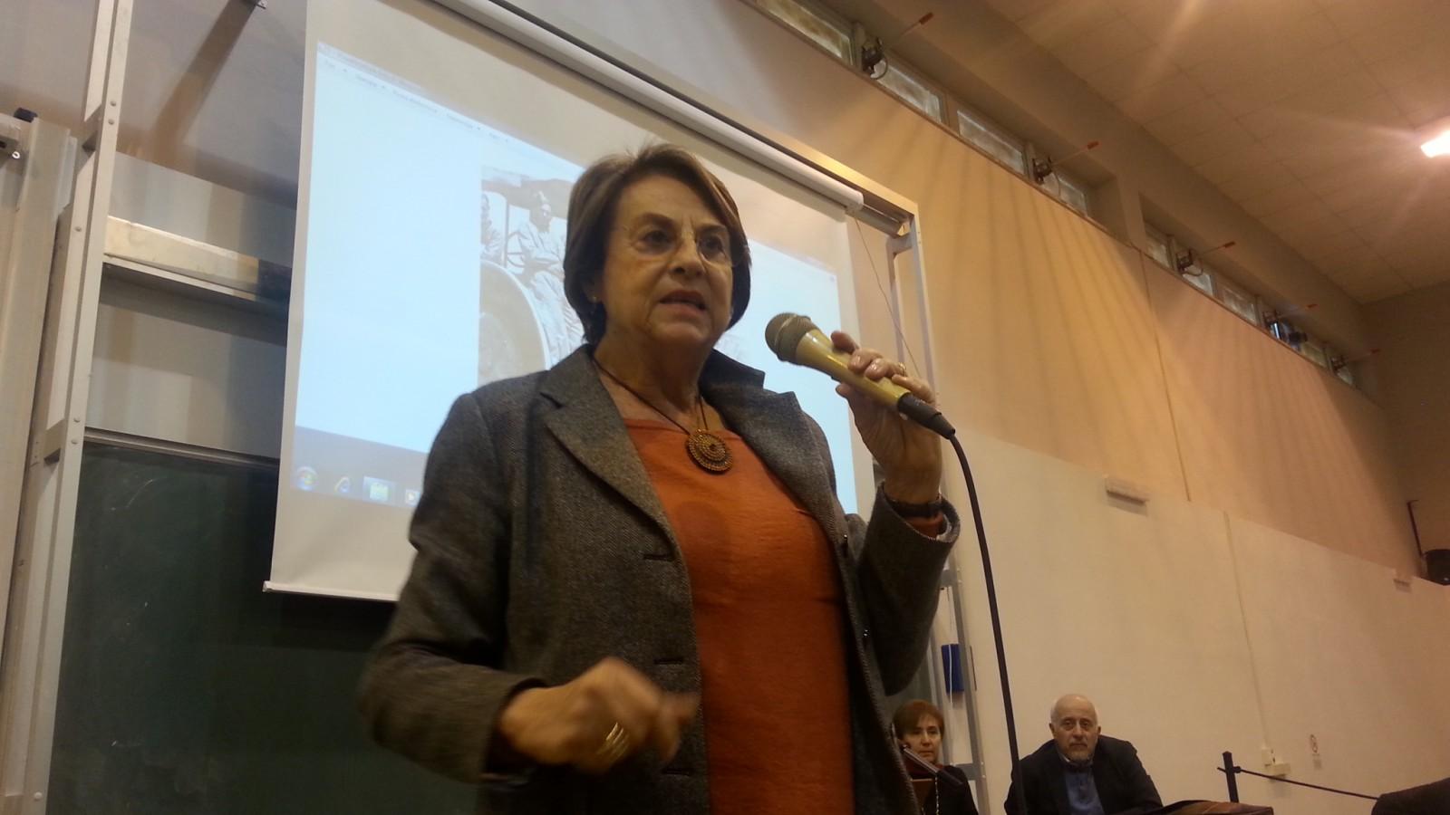 I giorni e la storia, Miriam Rebhun a Benevento