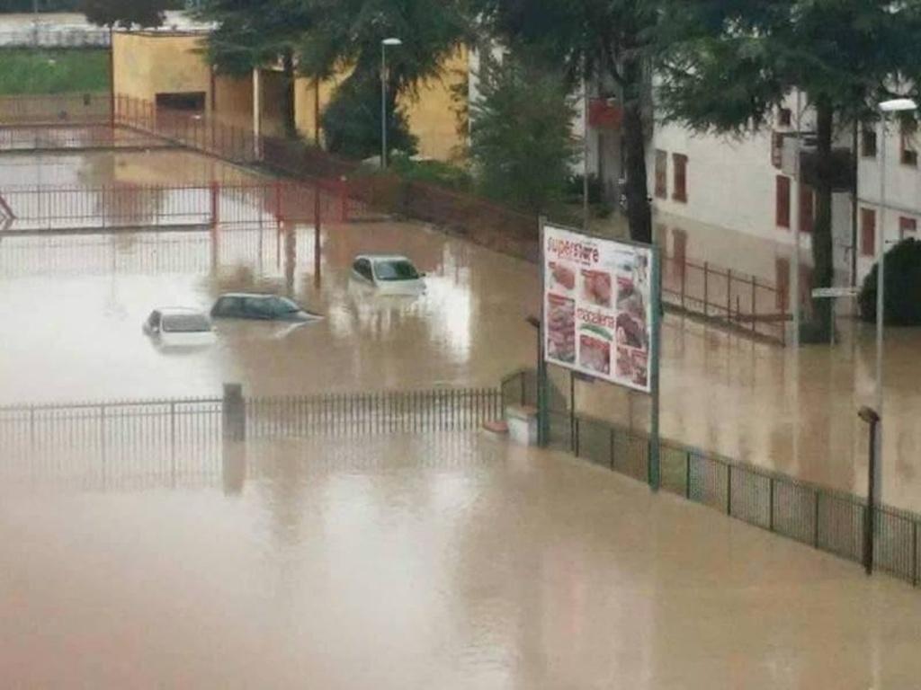 15 ottobre 2015, l'alluvione nel Sannio