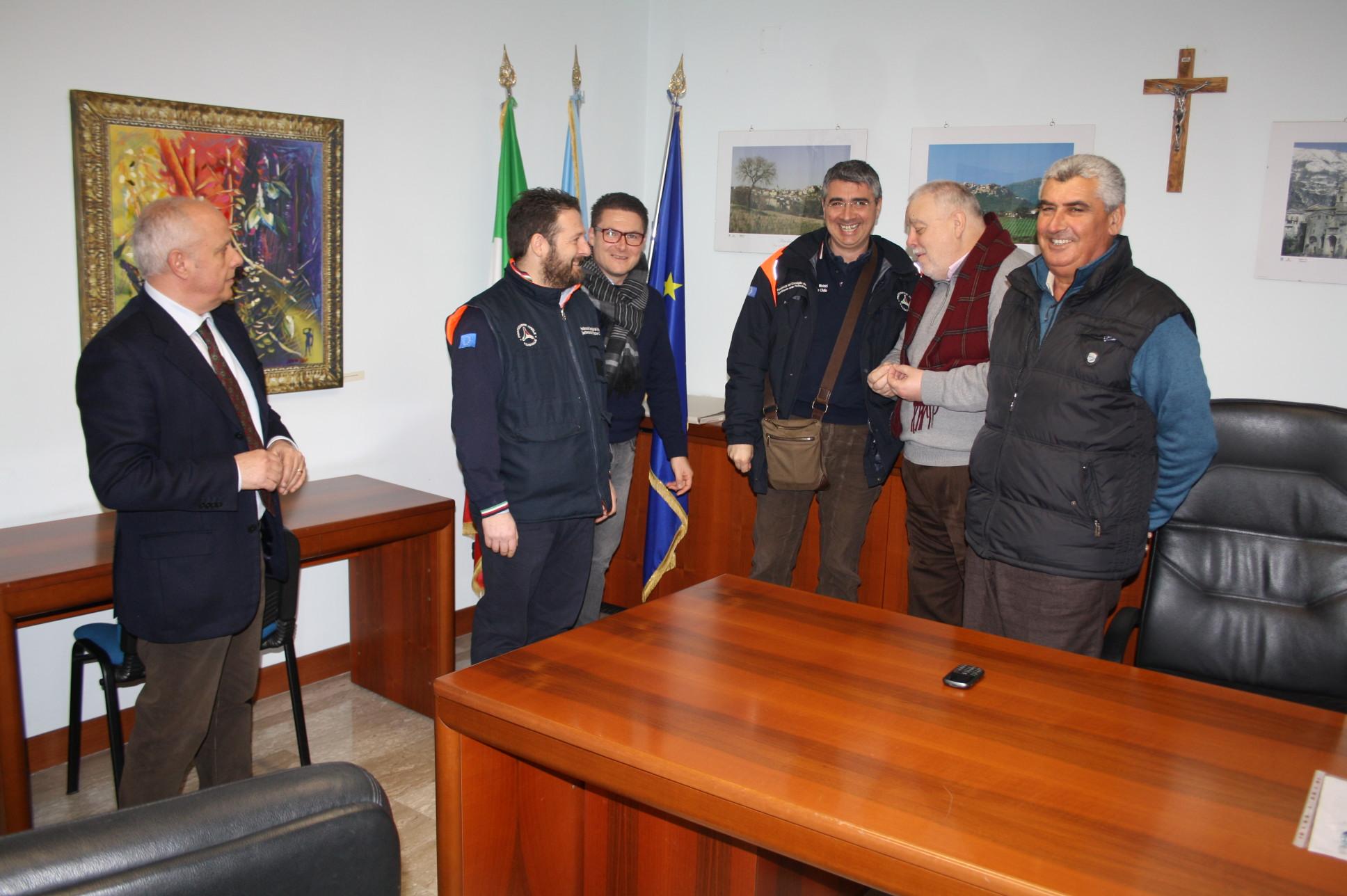 """Neve: alla Rocca un """"briefing"""" sulle strade provinciali"""