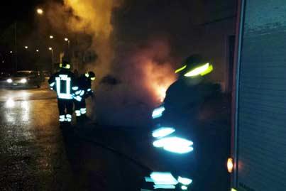 Baiano| Incendio in un cantiere edile, l'ombra del racket