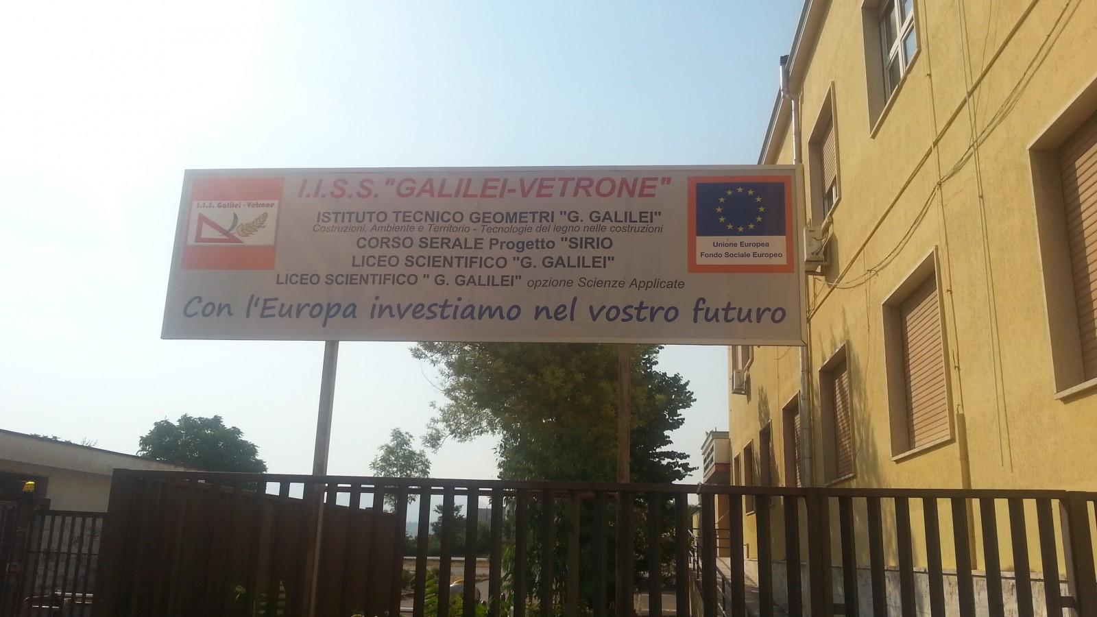 "All'I.C ""Galilei-Vetrone"" al via Garanzia Giovani Campania"
