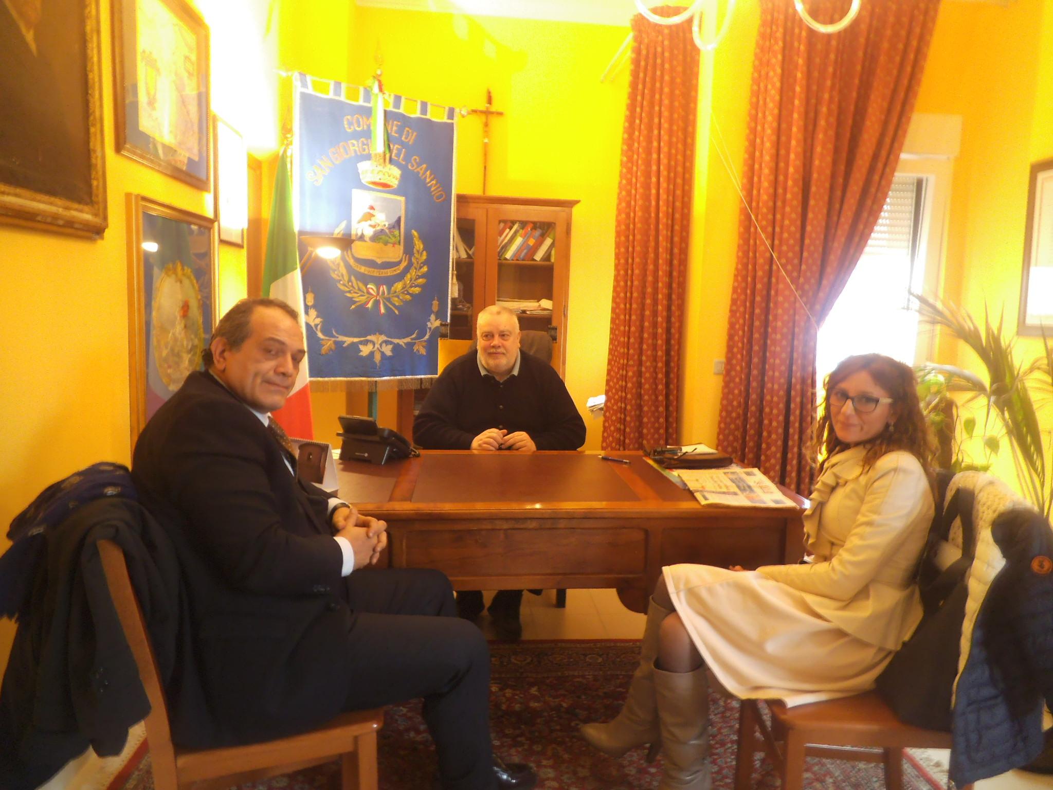 Post alluvione: il Presidente Ricci incontra il Commissario Grimaldi
