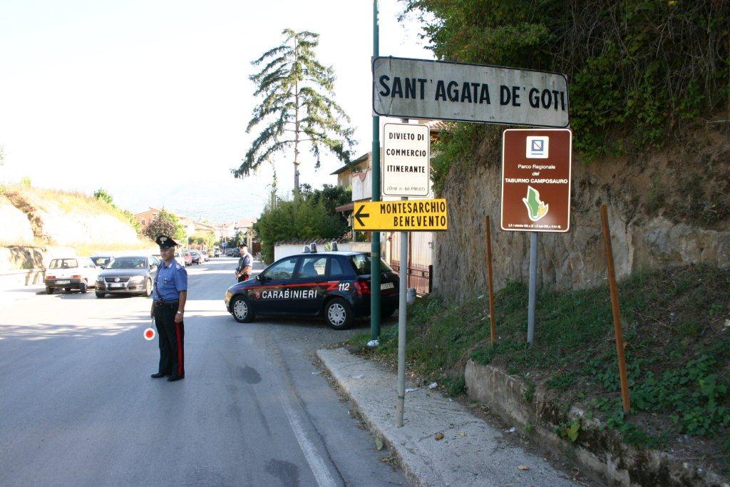Sant'Agata de'Goti: arrestato 46enne