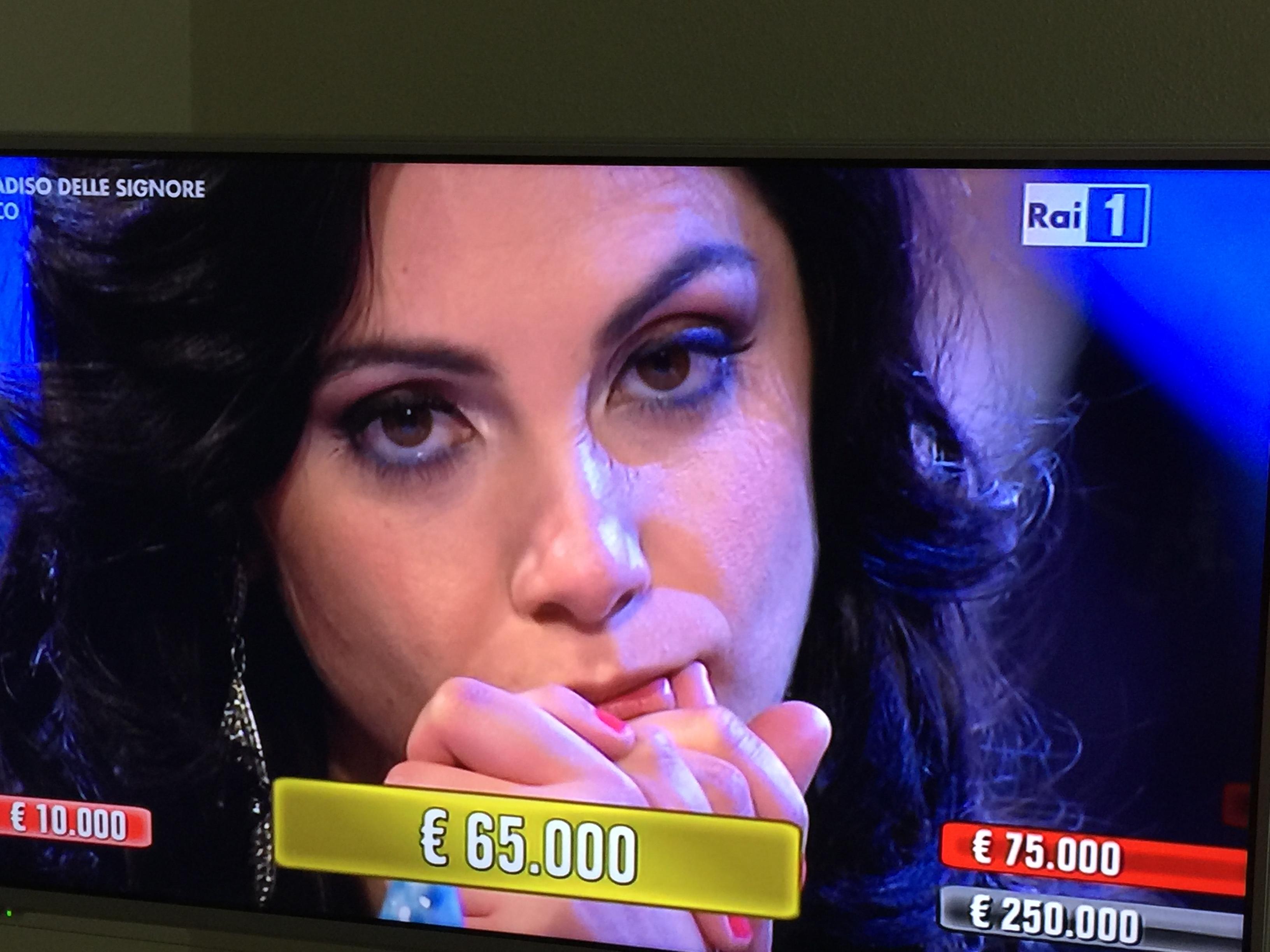 """Da """"Affari tuoi"""" a Benevento: la vittoria di Alessia Belperio"""