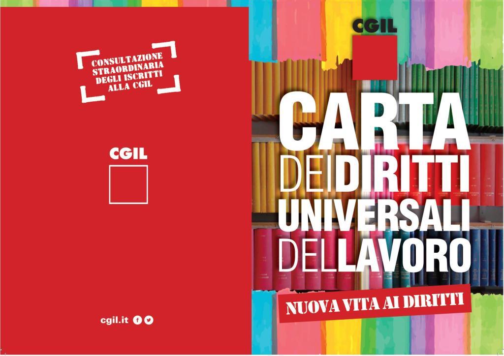 La CGIL lancia la Carta dei diritti universali del lavoro