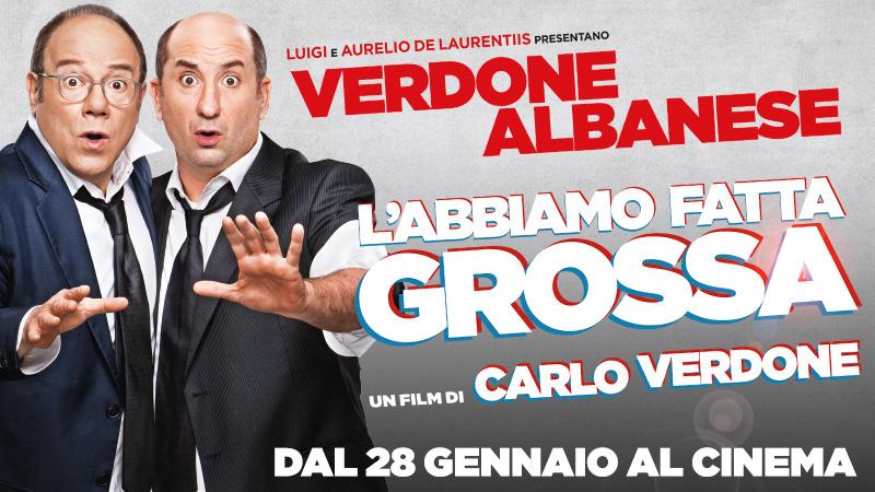 """De Laurentiis e Verdone presentano """"L'abbiamo fatta grossa"""""""