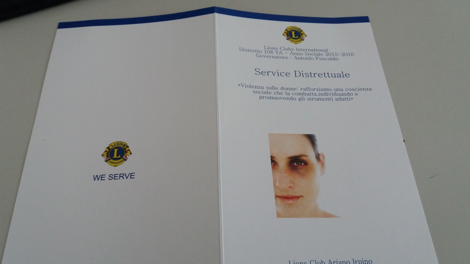 """Lions Club Ariano Irpino: si presenta il """"Service distrettuale"""""""