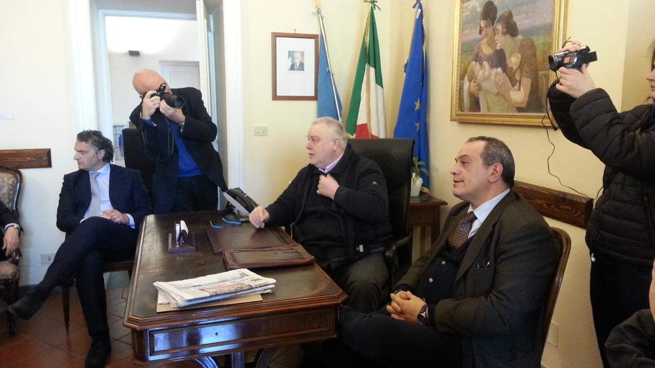 Alluvione, Grimaldi a Benevento incontra Pepe e Ricci