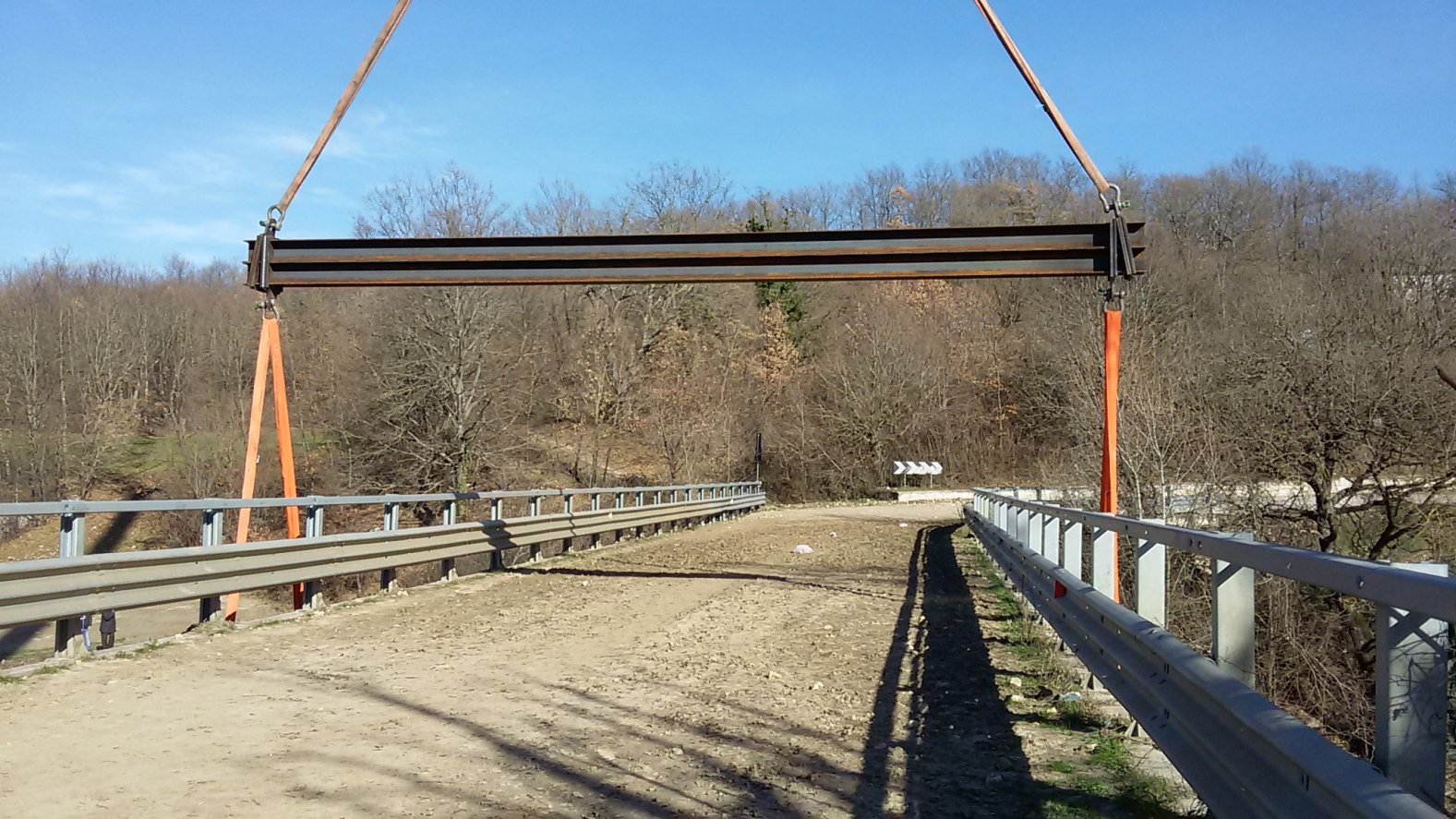 Tammarecchia: ecco il ponte di ferro