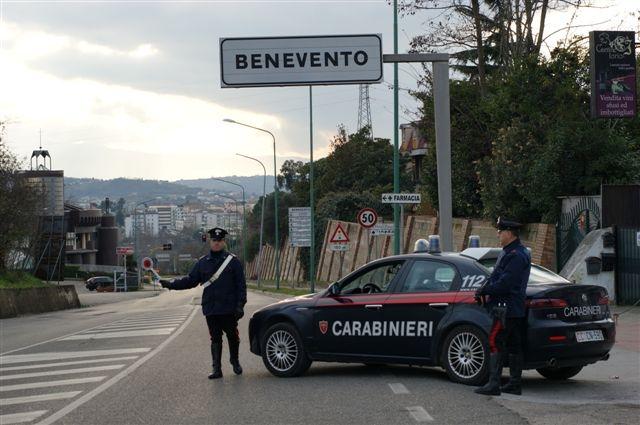 """""""Alto impatto"""": il bilancio dei Carabinieri di Benevento"""