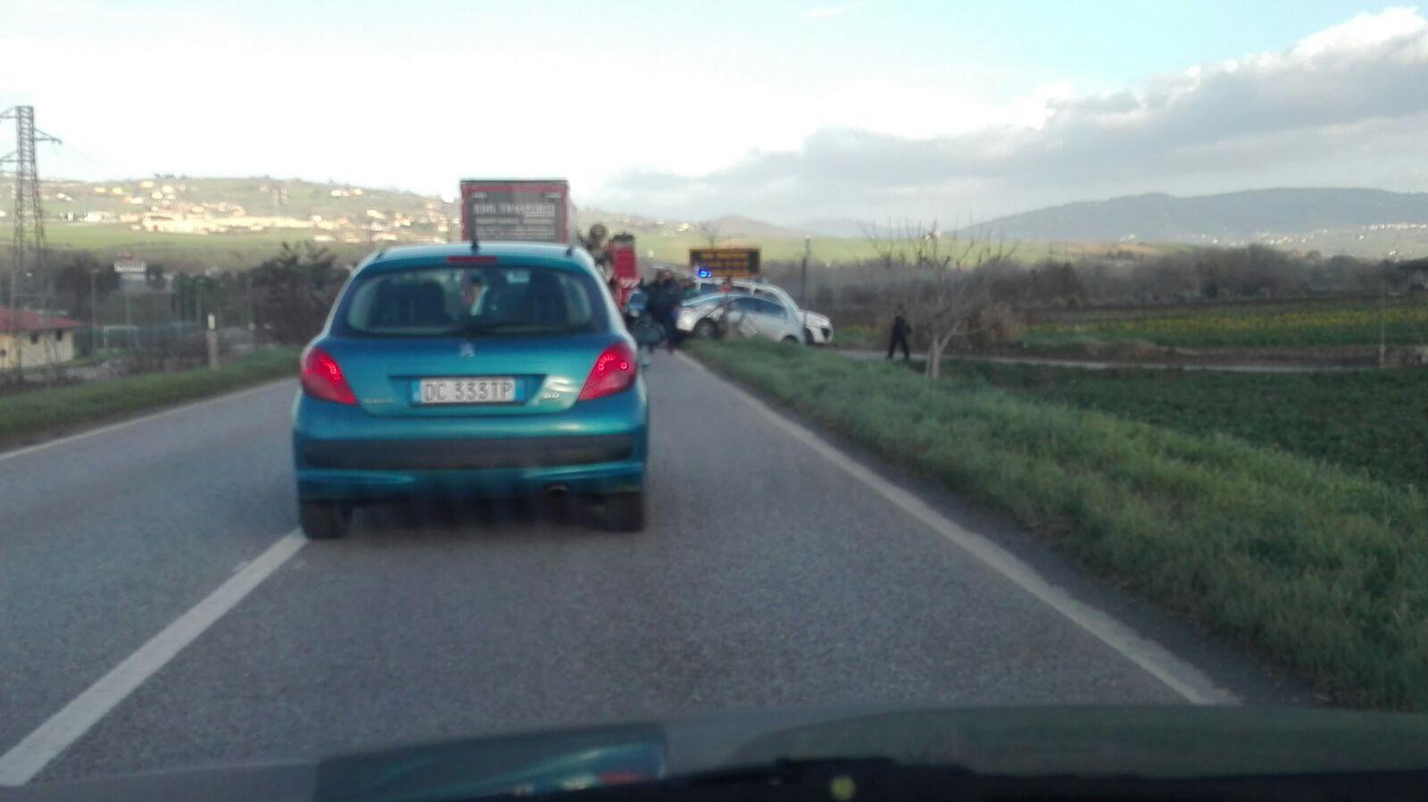 Incidente stradale sulla S.S 90