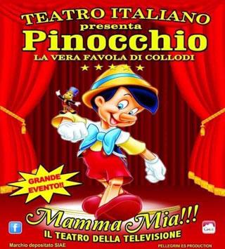 """A Benevento arriva """"Pinocchio la vera favola"""""""