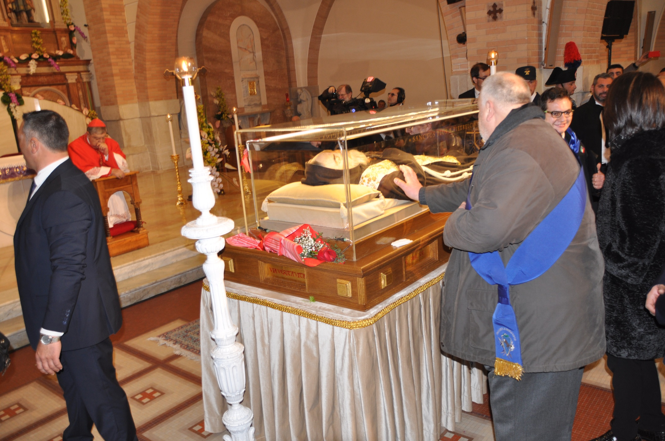 San Pio nel Sannio: le parole del Presidente della Provincia
