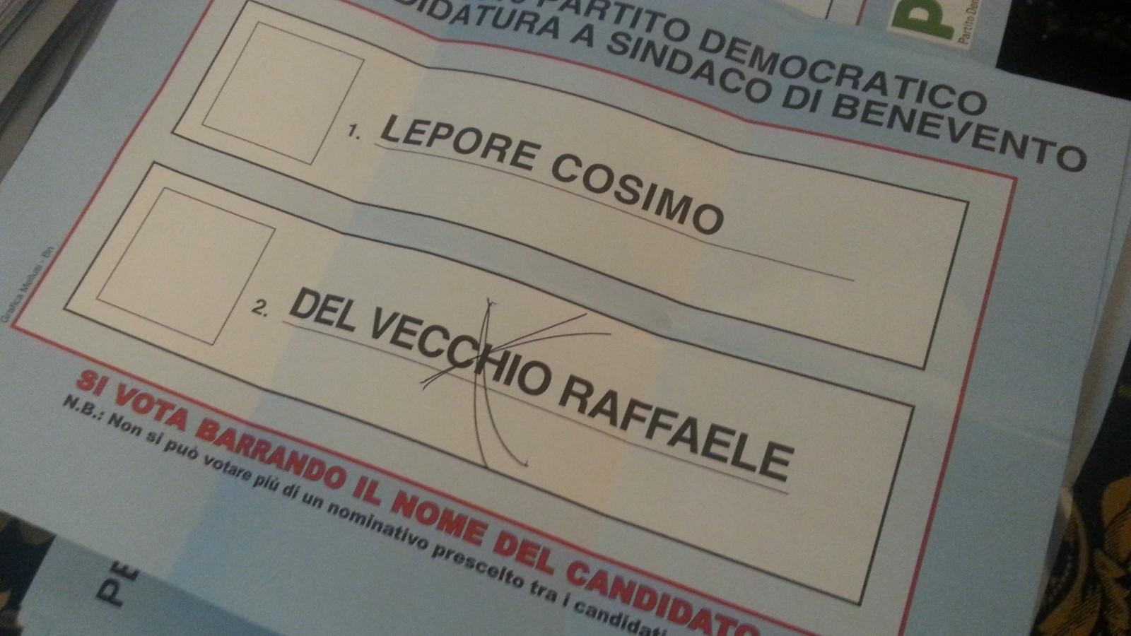 Vince Del Vecchio, non perde Fausto