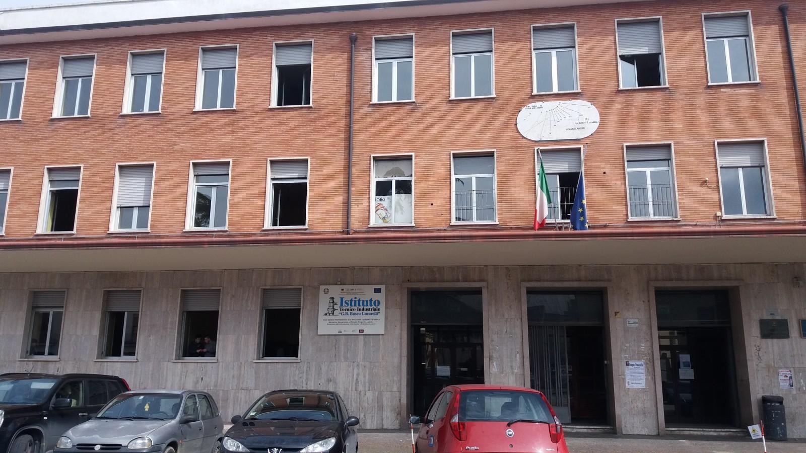 Messa in sicurezza dell'Istituto Tecnico Industriale Lucarelli
