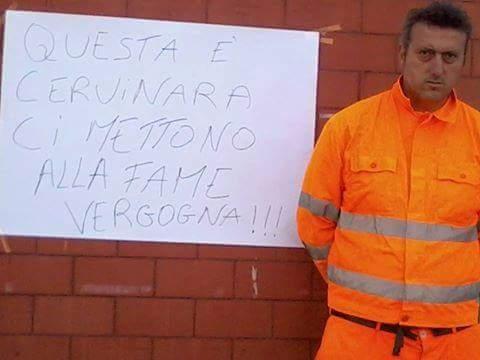 Franco Amoriello sospende lo sciopero della fame