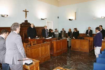 L'alluvione al centro del Consiglio Provinciale di Benevento