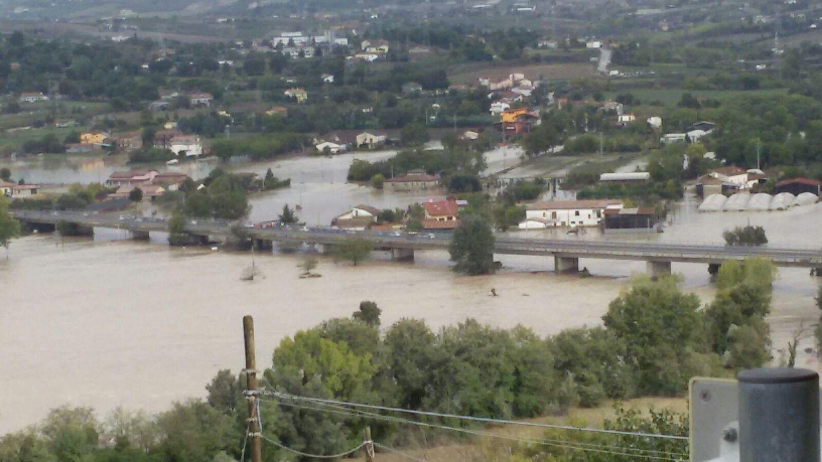 """Dopo alluvione: la Provincia """"firma"""" gli interventi"""