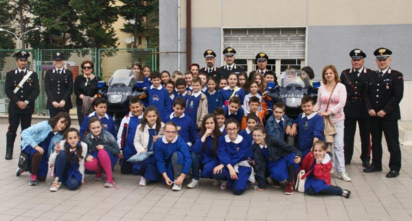 """Lezione di """"armi"""" con gli alunni della scuola """"San Pio"""""""