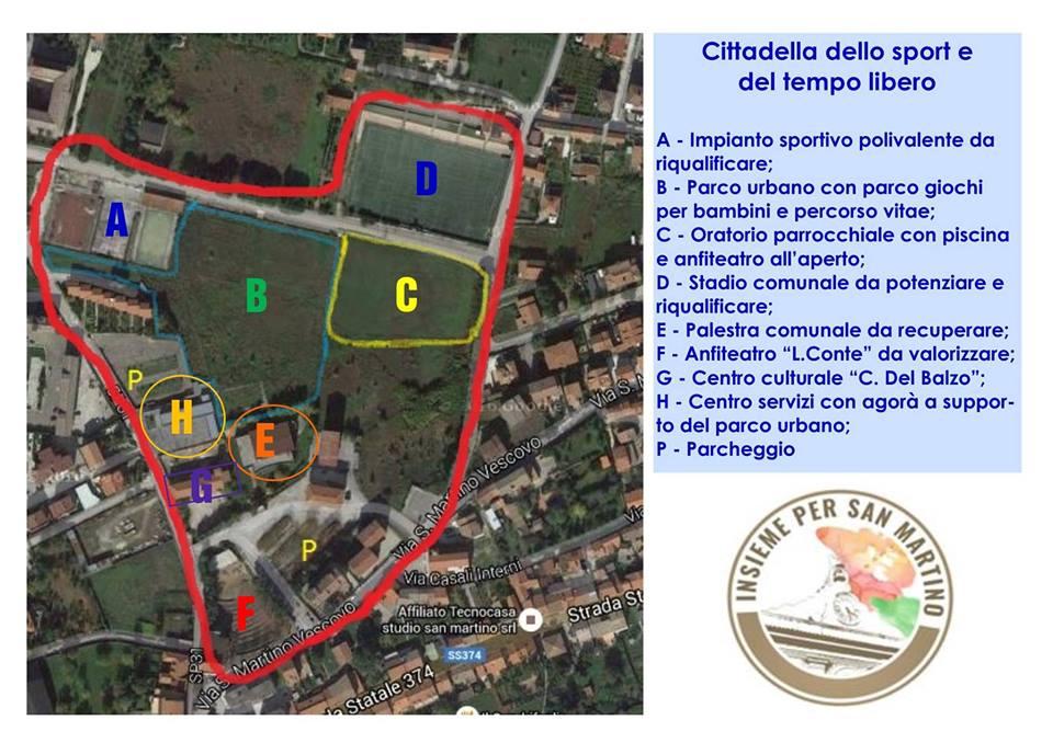 """Insieme per San Martino, un'idea di """"sport e tempo libero"""""""