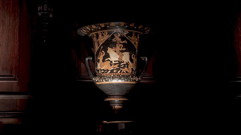 A Montesarchio torna il vaso di Assteas, Damiano: «Una battaglia vinta»