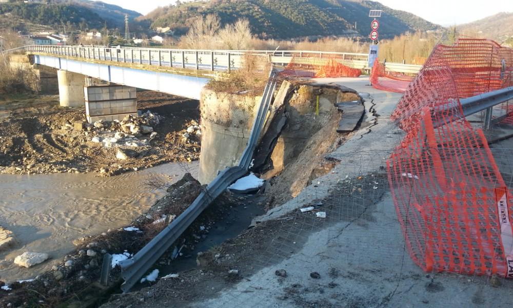 Provincia Benevento, approvato progetto ponte fiume Ufita