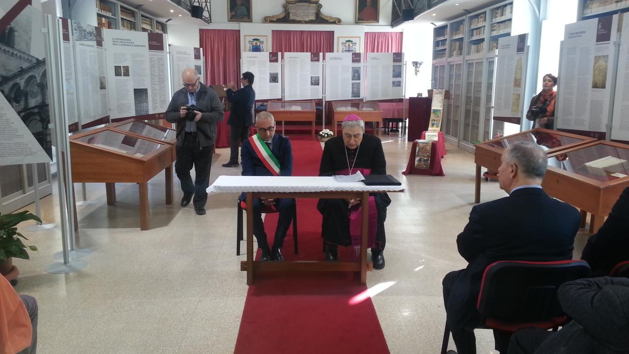 La Chiesa di Benevento tra manoscritti e libri a stampa
