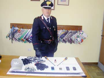 Furto in casa:  in manette cinque serbi