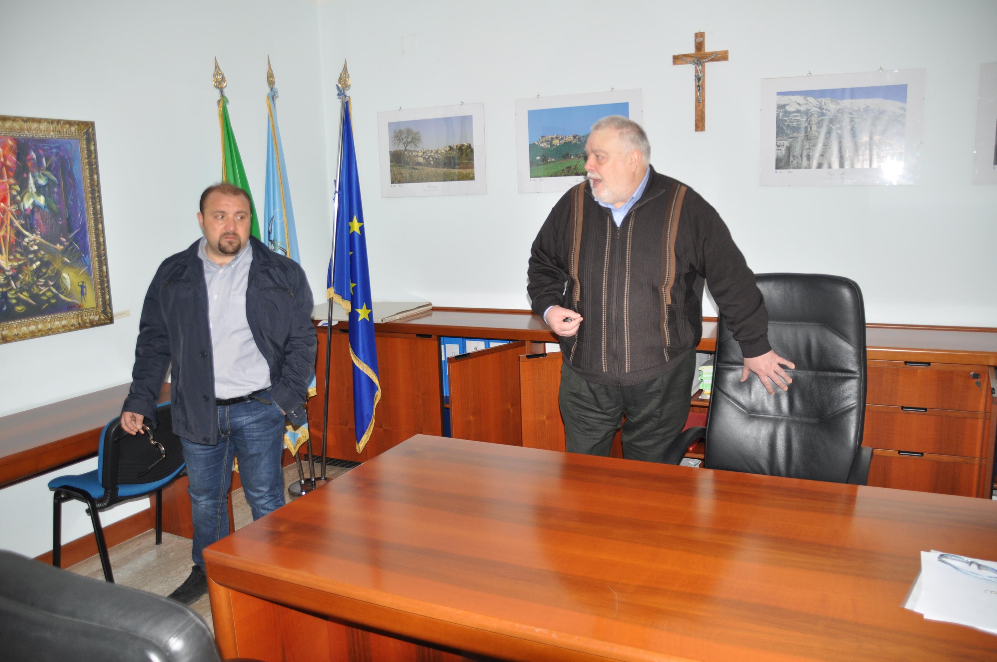 Raid negli uffici della Provincia di largo Carducci