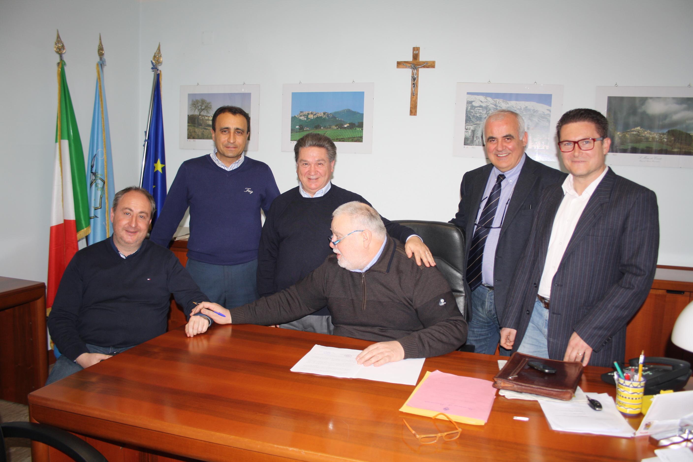 Ricci incontra i sindaci di Pietrelcina e Solopaca