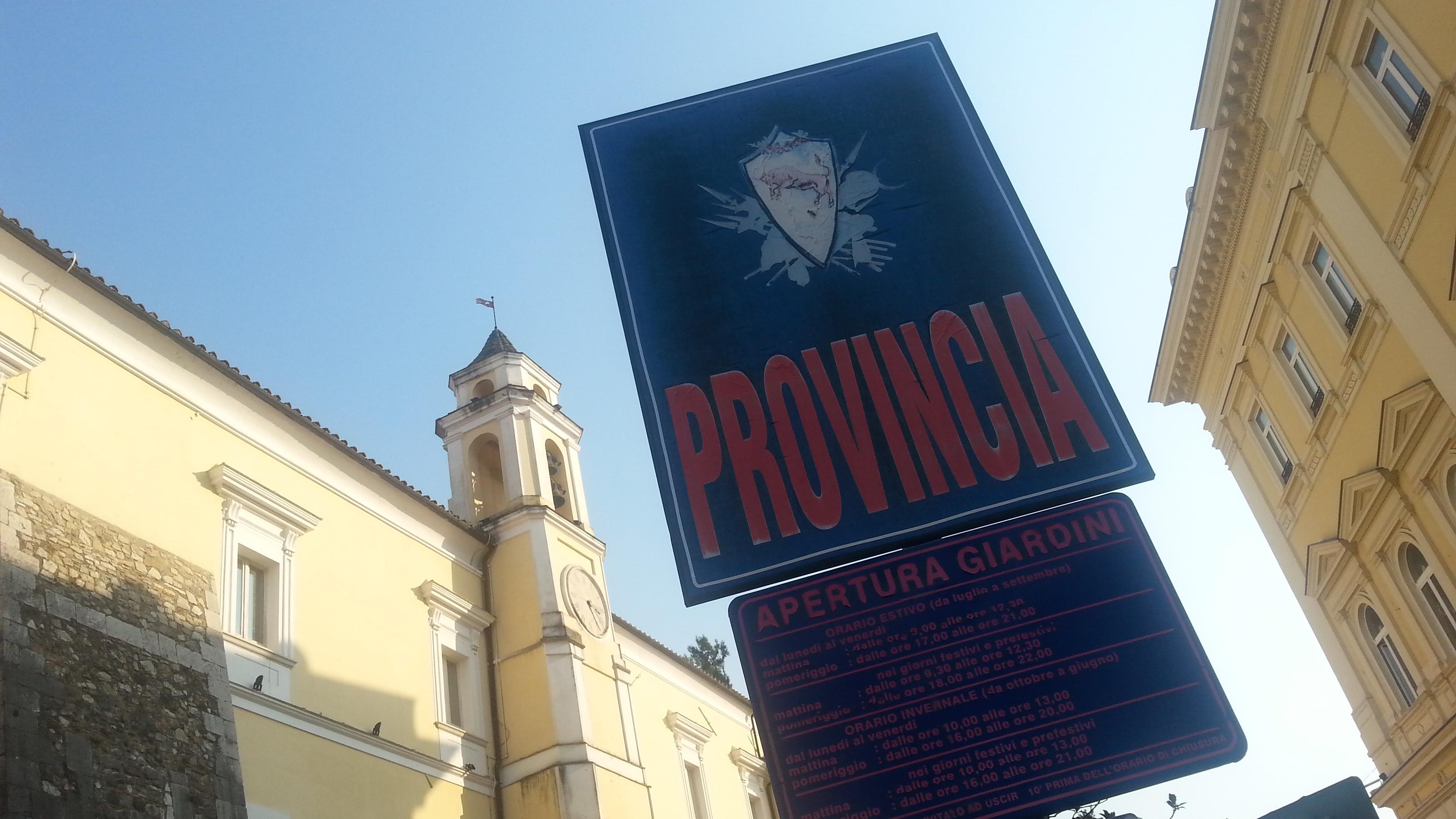 Benevento| Forestali-Provincia: accordo pieno su dislocazione cantieri