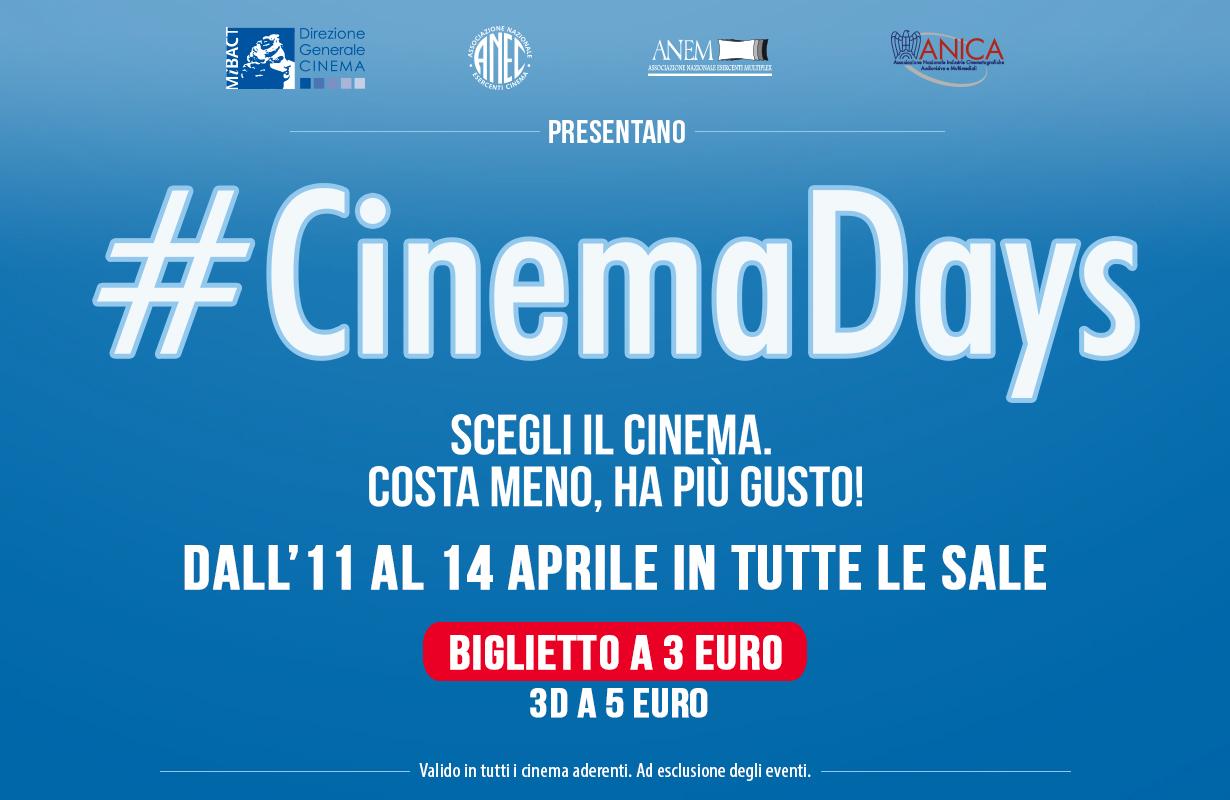 #CinemaDays arriva anche a Benevento
