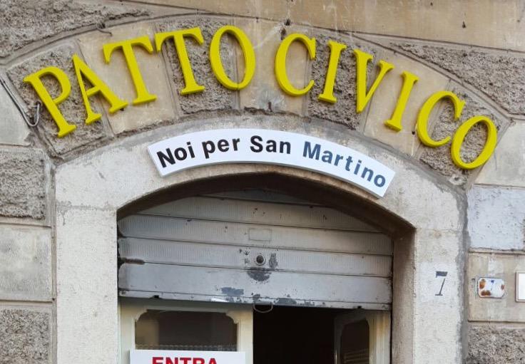 Il messaggio di Patto civico: «Invertiamo la rotta»