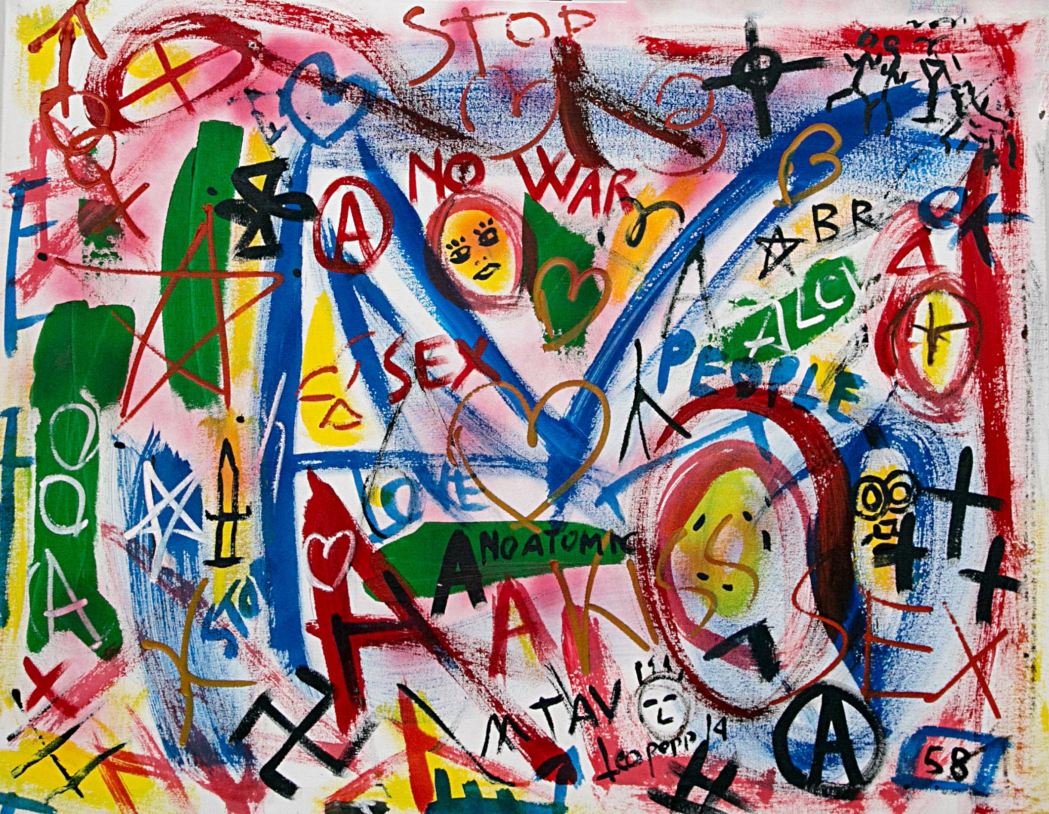 """""""Graffiti"""": a Benevento la mostra di LeoPapp"""