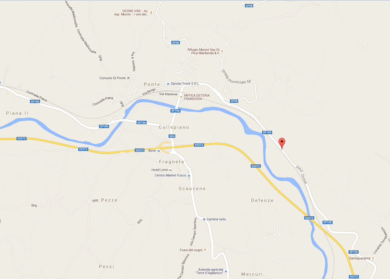 Sì della Provincia al ripristino della Provinciale 106 Ponte-Torrecuso