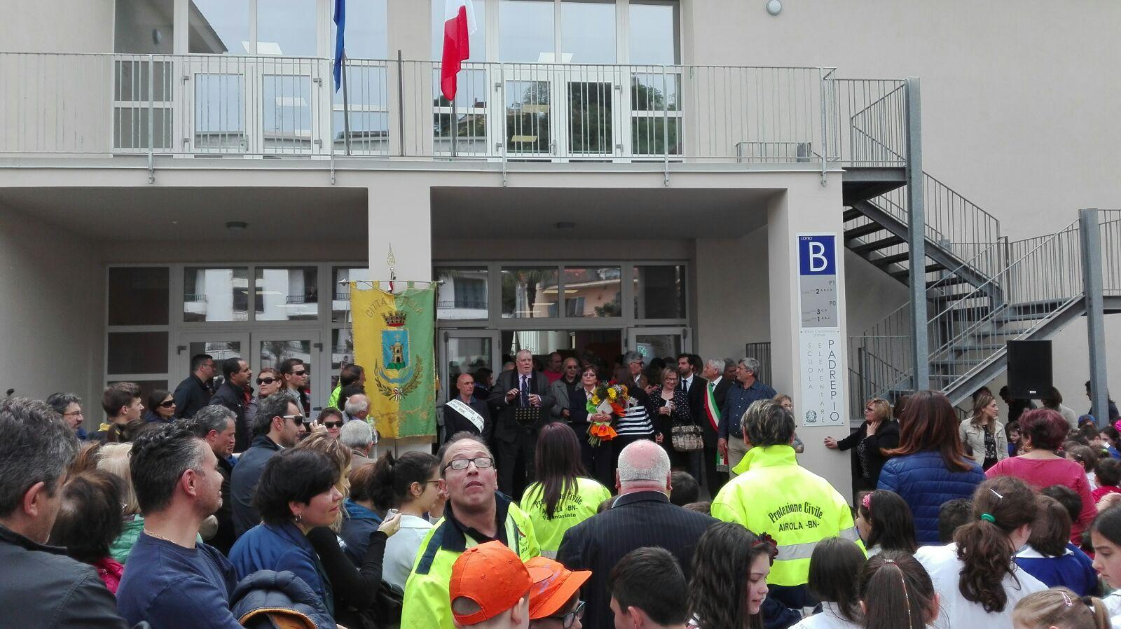 Ricci ad Airola: scuola Padre Pio segnale di impegno concreto