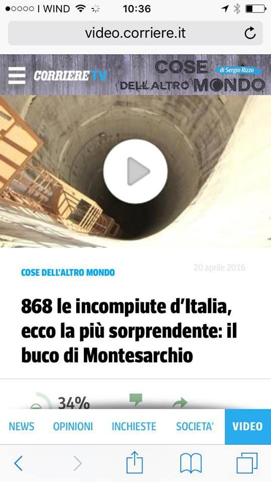 """Il """"buco"""" della Torre su il """"Corriere Tv"""""""
