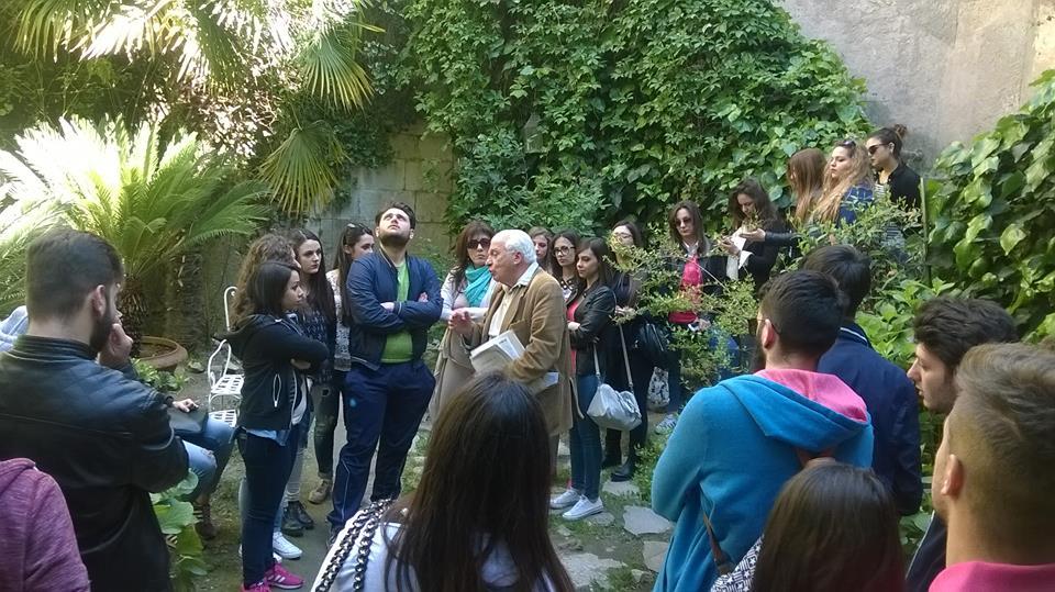 Studenti in visita al Castello Pignatelli-Della Leonessa