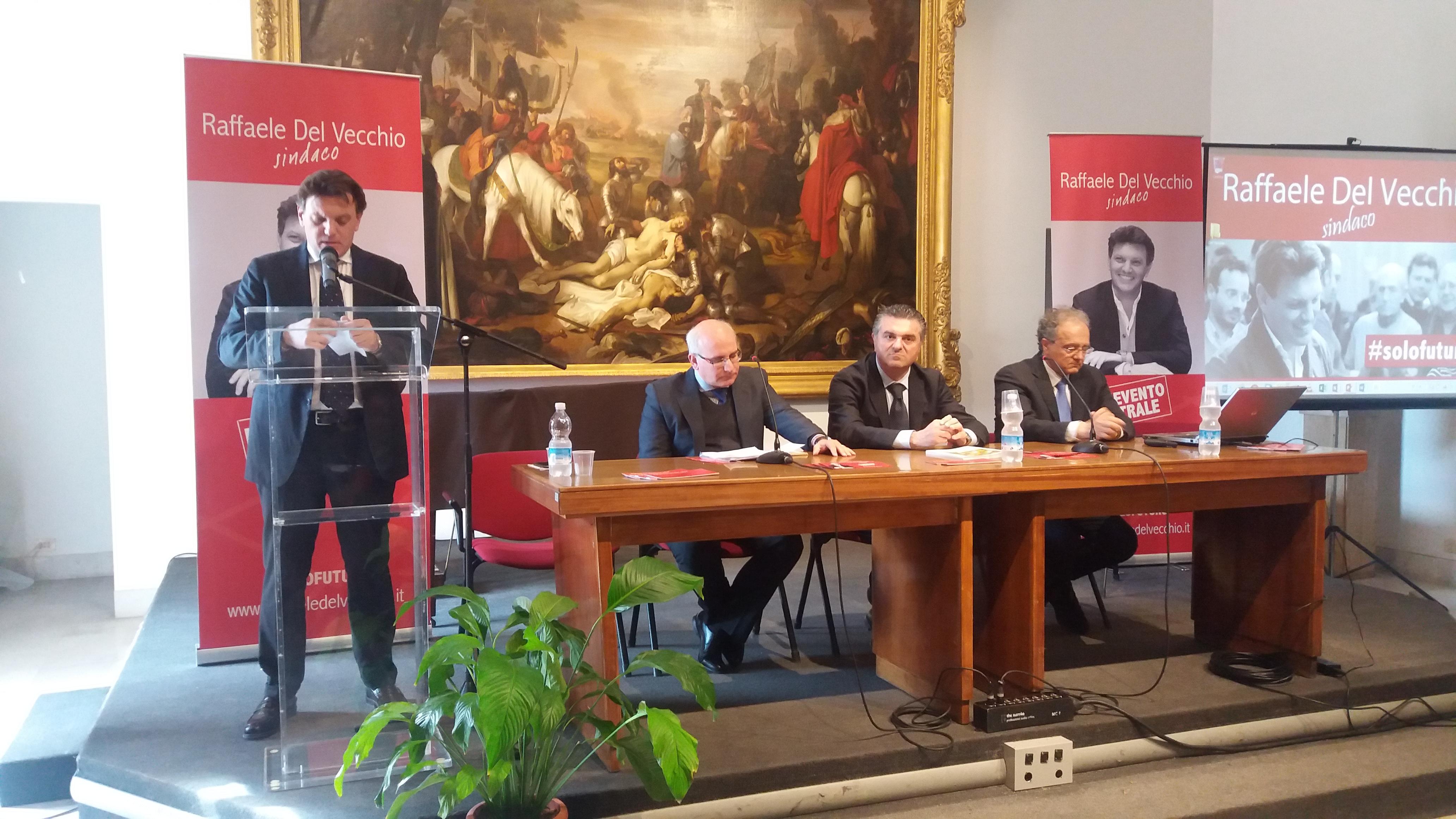 """""""Programmare insieme il territorio"""": Del Vecchio presenta il primo focus"""
