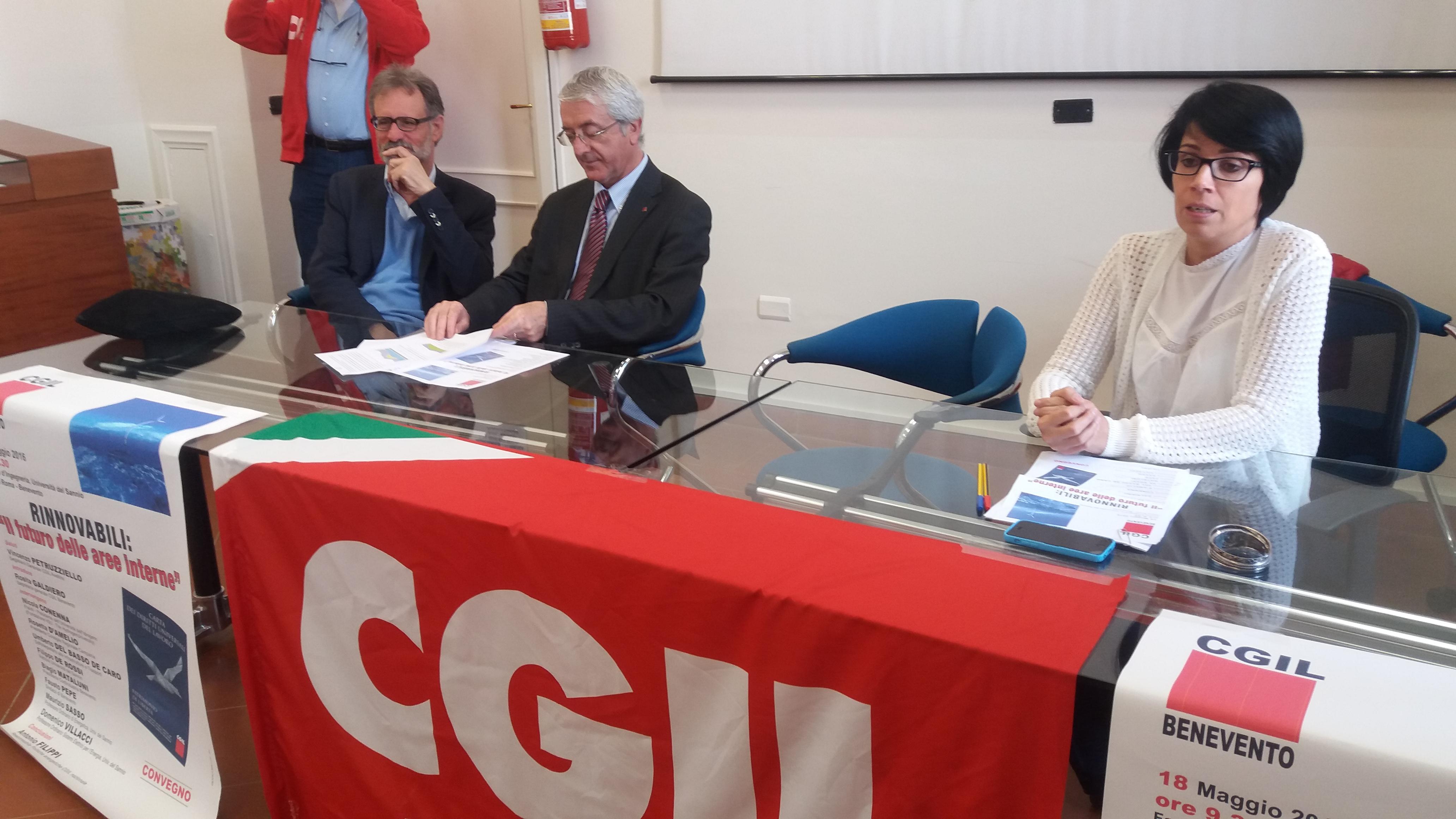 Sfruttare energia eolica a Benevento e Avellino: la scommessa della Cgil