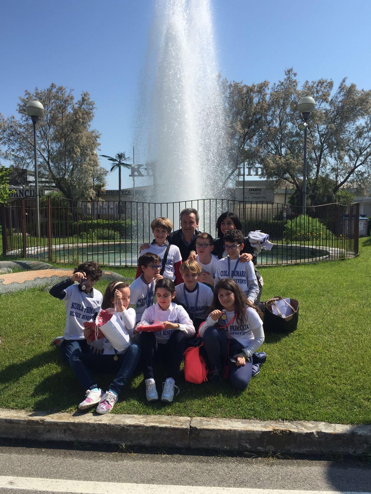 Coppa kangourou 2016 alla scuola primaria bilingue di Benevento