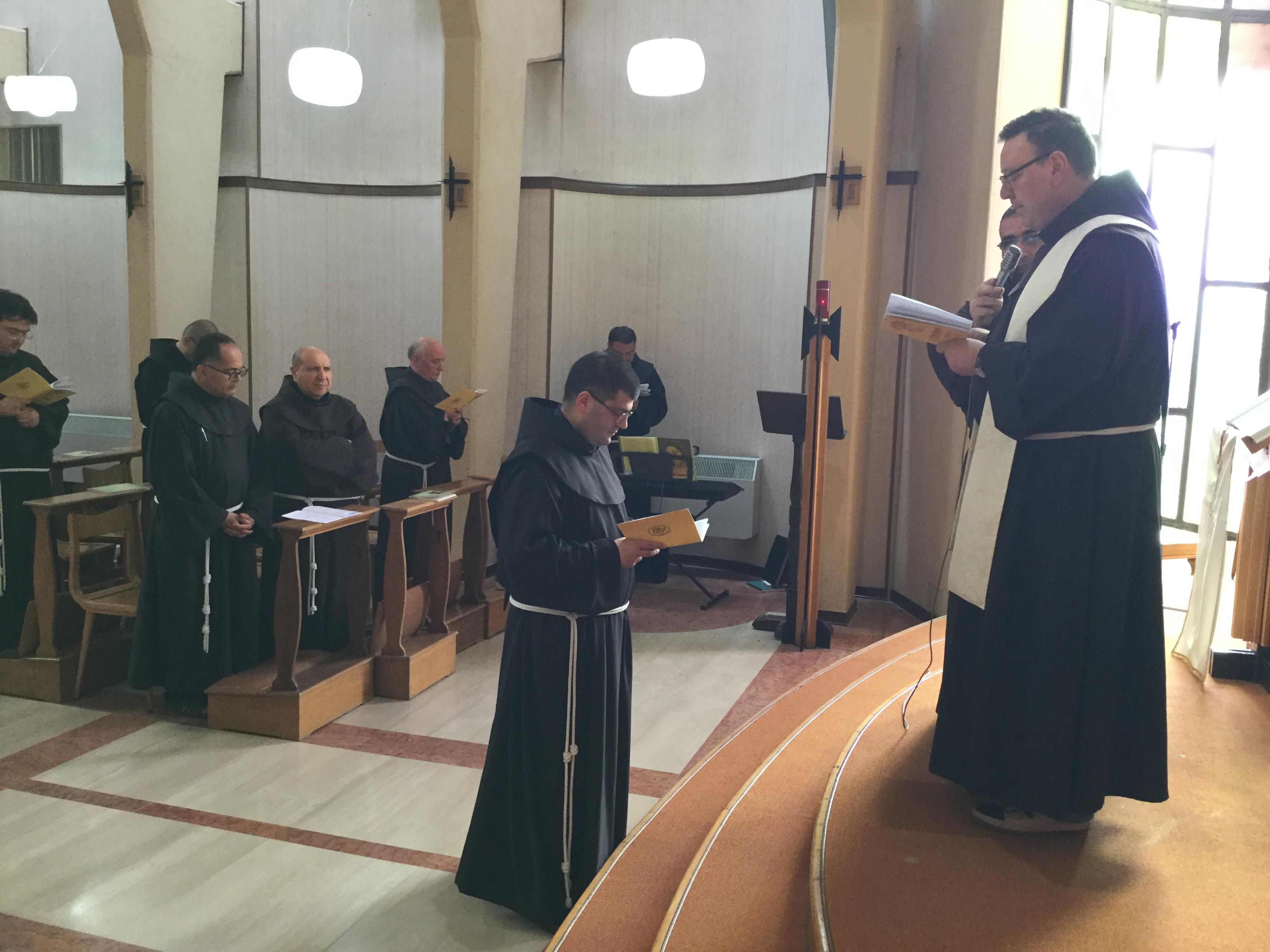 Frati Minori Sannio e Irpinia: eletto Ministro Provinciale Fr. Antonio Tremigliozzi