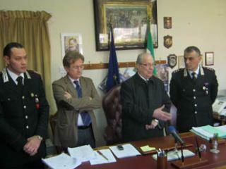 L'amministrazione comunale plaude al magistrato Taddeo