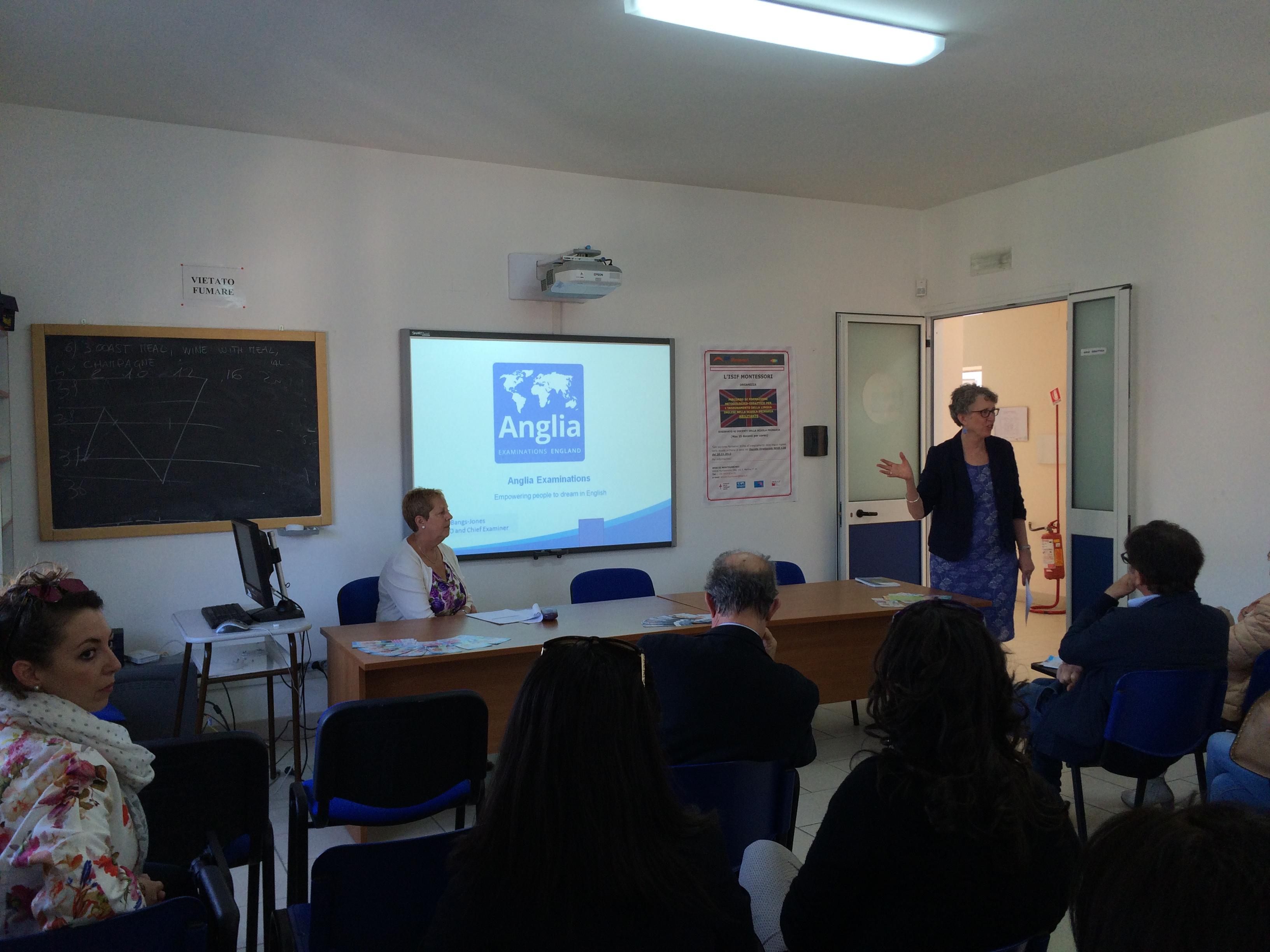 L'Istituto Montessori ospita docenti dal Regno Unito