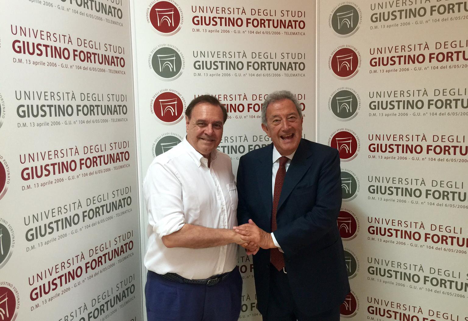 """Il sindaco visita l'Unifortunato, Fantozzi: """"contribuiamo alla governance della città"""""""