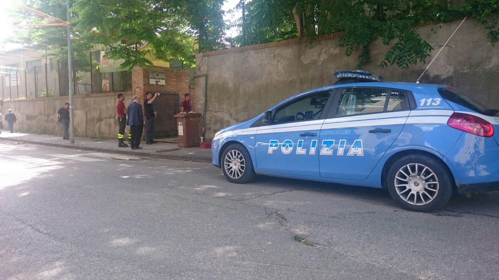 """Fuga di gas nella ex scuola """"Sannio"""" di Ponticelli"""